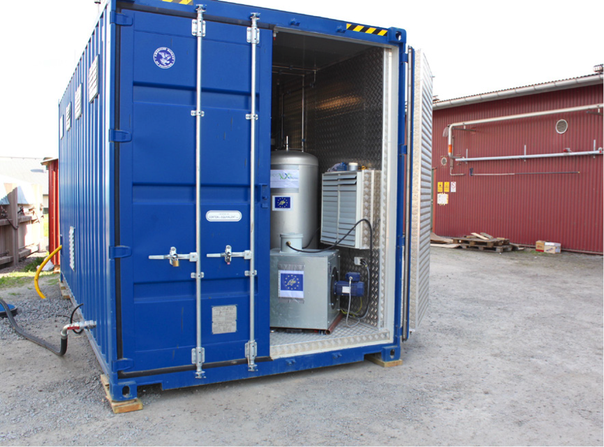 NeoZeo biogas upgrading module is in Sweden for small scale